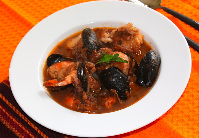 ... share with a girlfriend – Traditional Italian seafood stew from Fano