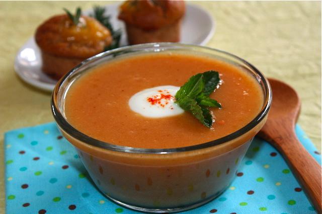 Folie de p 234 ches soupe p 234 ches menthe et bouch 233 es p 234 ches romarin