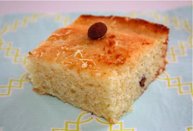 Nancy's flavor – Wet bergamot cake