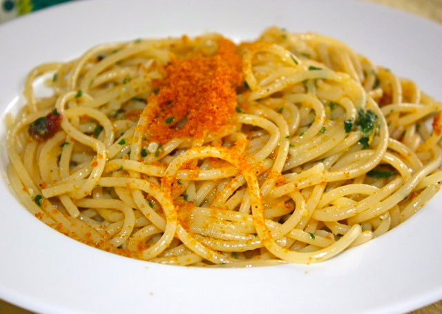 Bottarga Pasta Recipe — Dishmaps