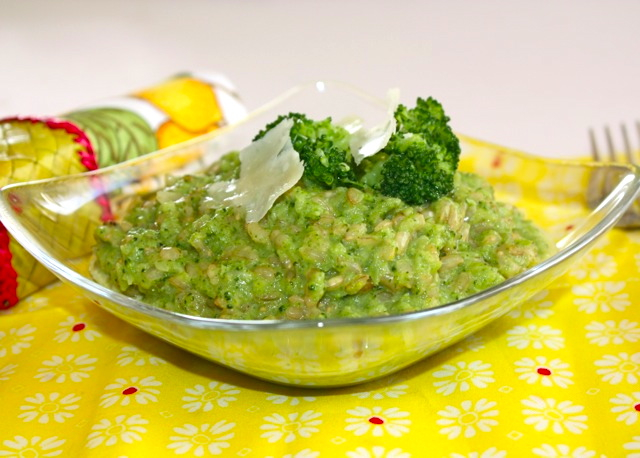 Broccoli Risotto With Cream And Lemon Recipes — Dishmaps